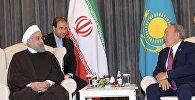Назарбаев Руханимен кездесті