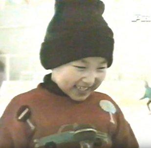 Денис Тен - алғашқы сұхбат, архивтегі видео