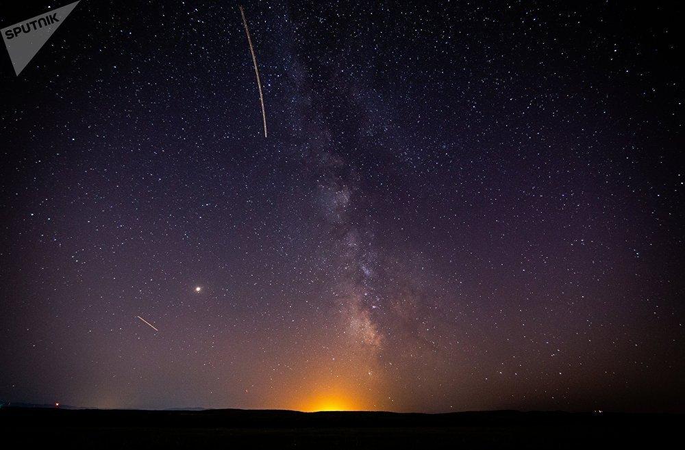 Метеорный поток Персеиды в Краснодарском крае