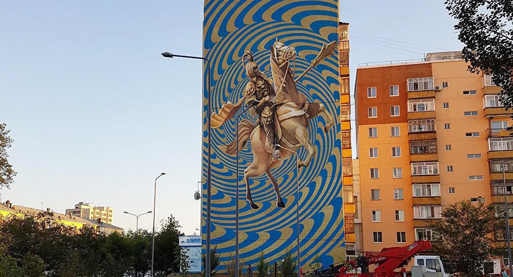 Граффити Дмитрия Левочкина