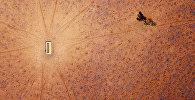 Засуха на окраине городе Уолджетт (Австралия)