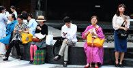 Япония, на одной из улиц Токио.