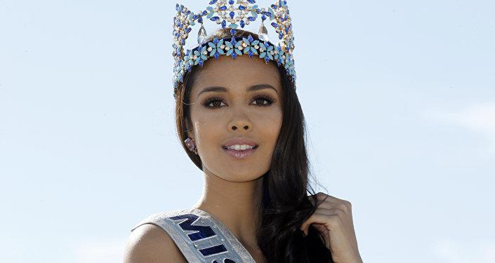 Победительница конкурса Мисс мира в 2013 году Меган Янг
