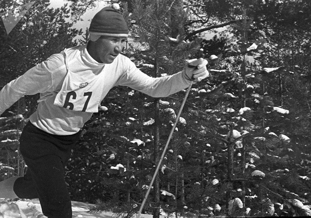 Лыжник Иван Гаранин