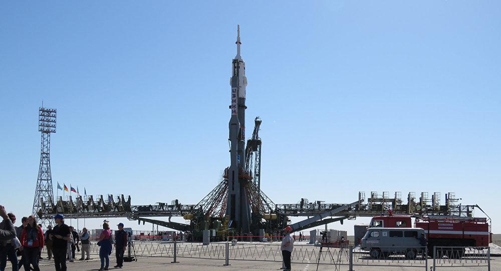 Вертикализация ракеты