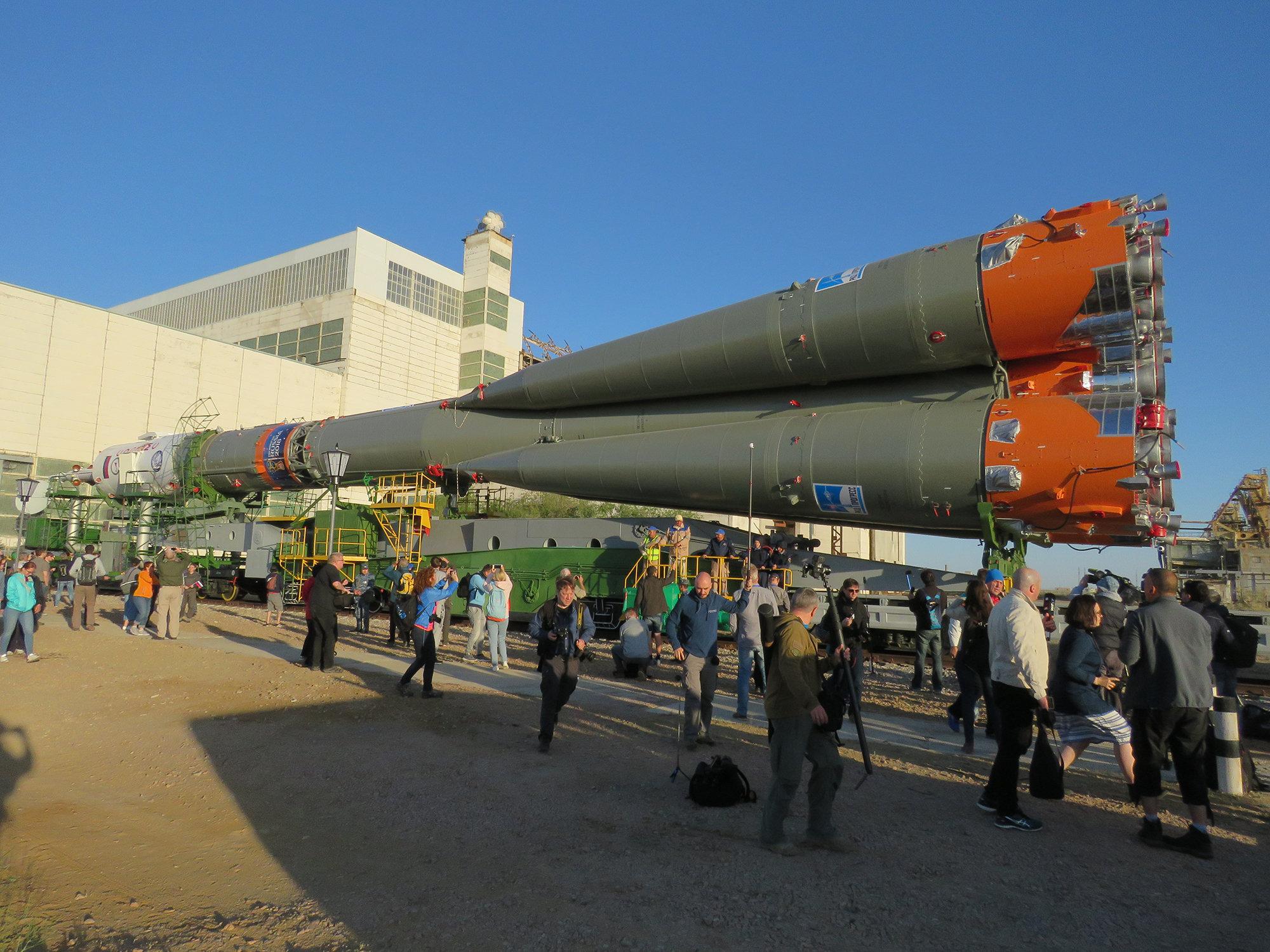 Вывоз ракеты