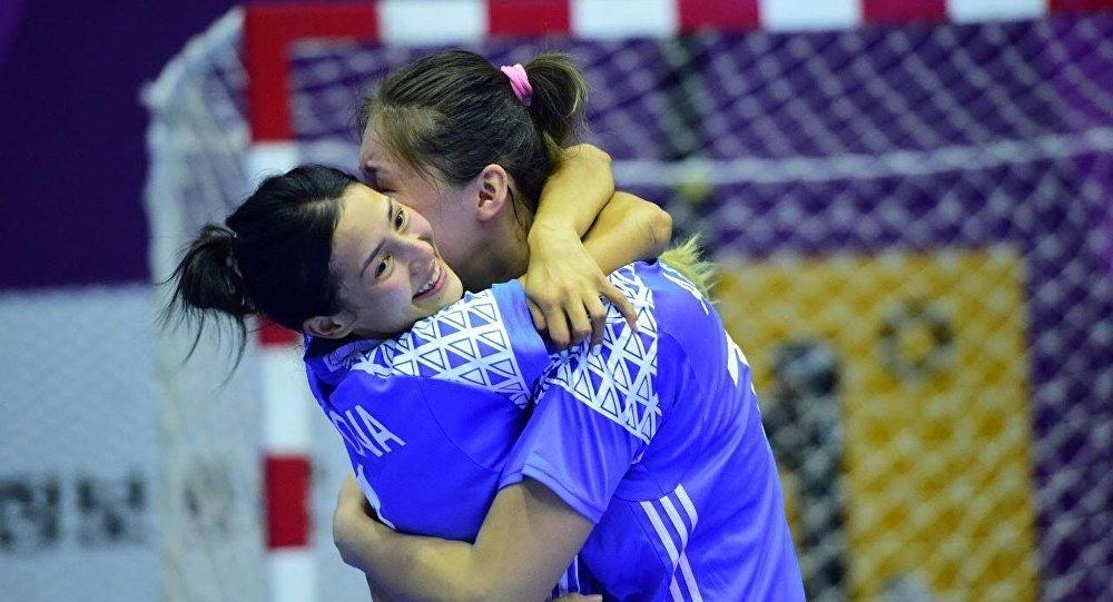 Женская команда по гандболу из Казахстана обыграла китаянок