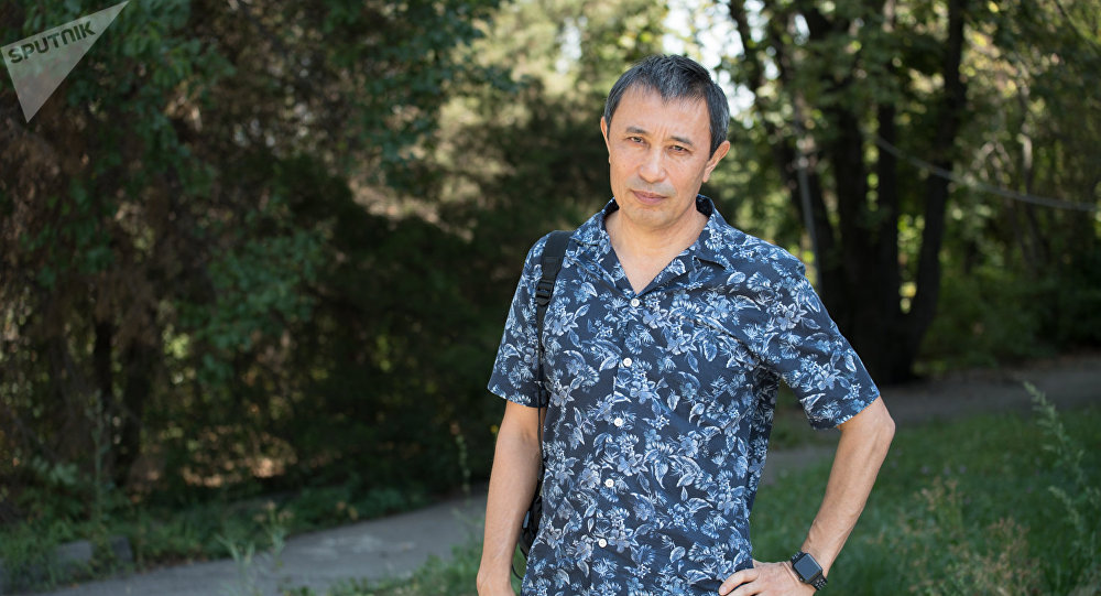 Глава Союза кинематографистов Казахстана Ермек Турсунов