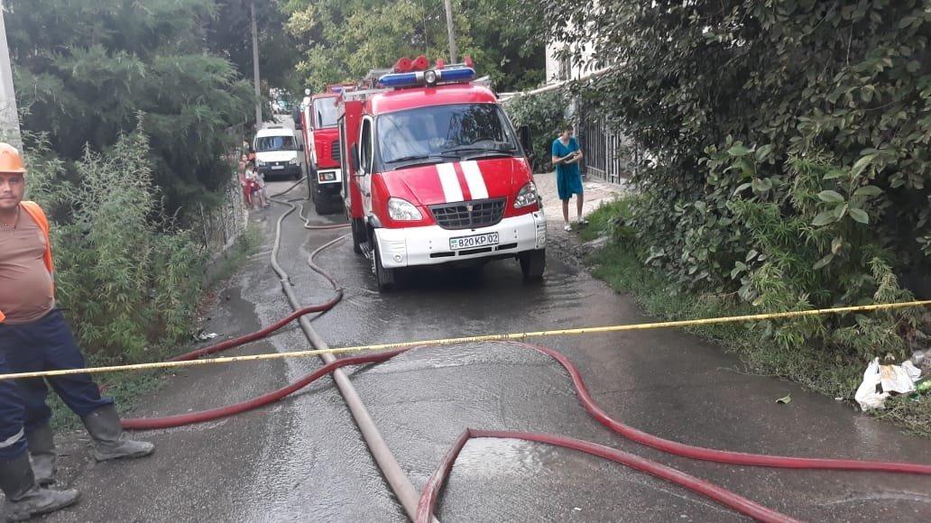 Пожар в частном секторе, погиб мужчина