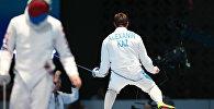 Чемпион Азиатских игр по фехтованию на шпагах Дмитрий Алексанин