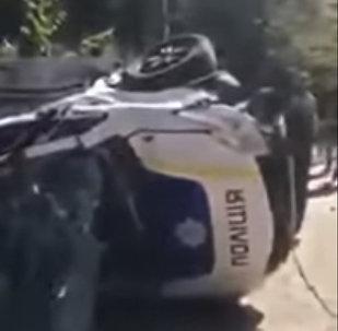 Полицейские сбили пешеходов