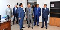 Бакытжан Сагинтаев ознакомился с ходом передислокации госорганов из Шымкента в Туркестан
