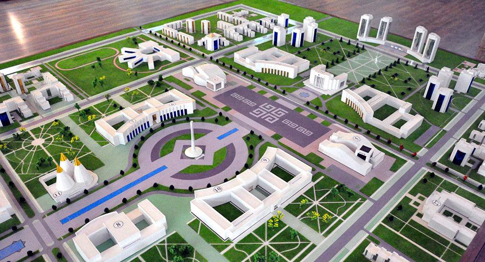 Проект концепции генерального плана развития Туркестана