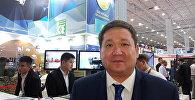 Пресс-секретарь министерства оборонной и аэрокосмической промышленности Асет Нуркенов