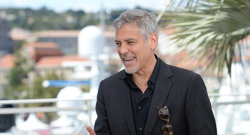 Актер Джордж Клуни. Архивное фото