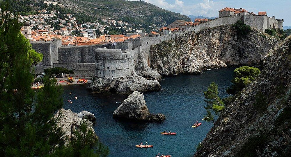 Крепость Святого Ивана в хорватском городе Дубровник