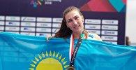 Қазақстандық Александра Опачанова Азия ойындарында академиялық есуден күміс медаль алды