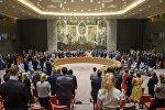 На заседании Совета Безопасности ООН