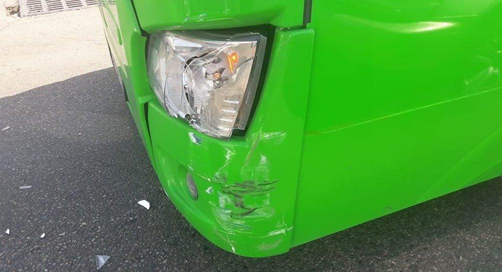 В результате ДТП пострадали 12 пассажиров автобуса
