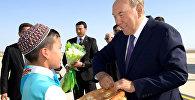 Президент Казахстана Нурсултан Назарбаев прибыл в Туркменистан для участия в саммите глав государств-учредителей Международного фонда спасения Арала