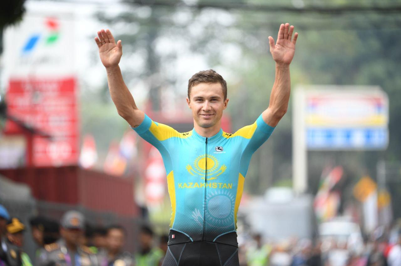 Велогонщик Алексей Луценко