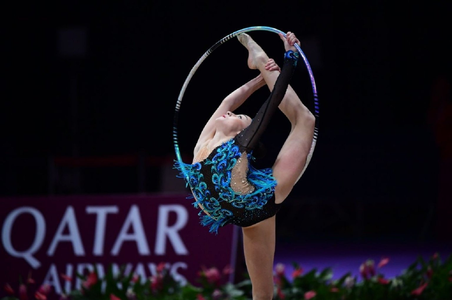 Сборная Казахстана по художественной гимнастике завоевала золотую медаль Азиатских игр
