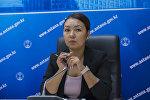 Пресс-секретарь акима Нур-Султана Эльвира Жургенбаева