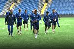Казахский Месси на поле: как сборная Казахстана тренируется перед матчем с Грузией