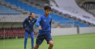 Футболист сборной Казахстана Еркебулан Сейдахмет