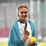 Казахстанская легкоатлетка Элина Михина