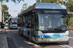 Общественный транспорт в Алматы