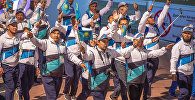 Казахстанская команда на Всемирных играх кочевников - 2018
