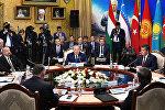 Участие в заседании VI саммита Совета сотрудничества тюркоязычных государств