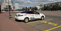 Парковка для такси перед акиматом Астаны