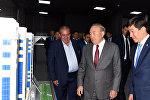 Назарбаеву показали мозговой центр управления городом Алматы