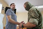 Заседание суда по делу журналиста К. Вышинского в Херсоне