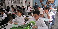 Ученики шестого класса кызылординской школы №2 Мурагер