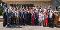 Участники конференции российских соотечественников в Казахстане