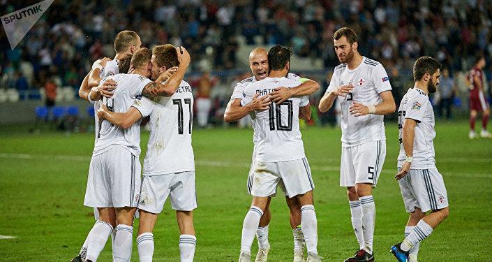 Сборная Грузии выиграла Латвию