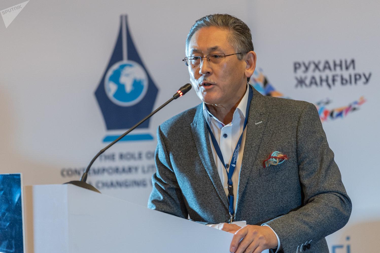 Президент ПЕН-клуба Бигельды Габдуллин