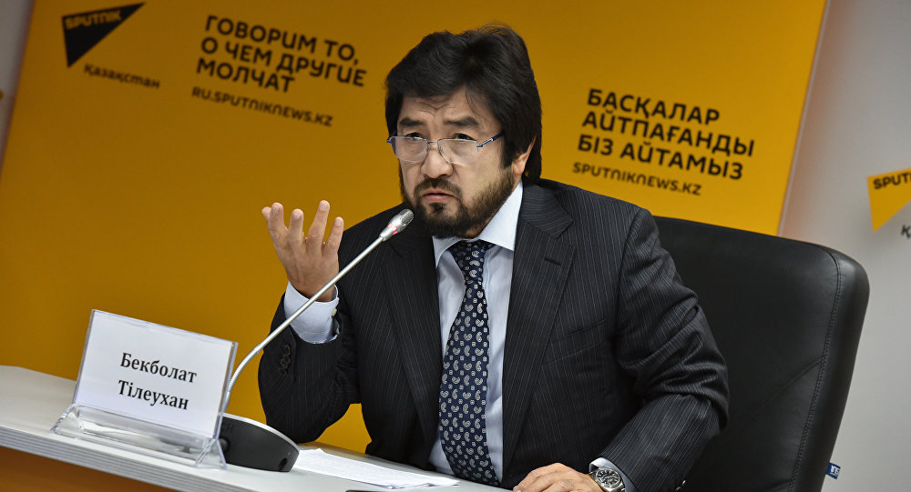 Бекболат Тілеухан, ҚР ұлттық спорт федерациясының президенті