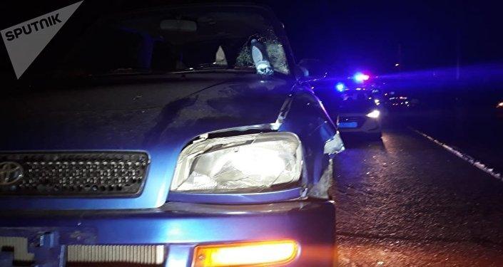 Тойота Рав 4 сбила мужчину возле рынка Алтын Орда