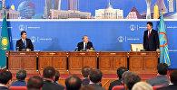Нұрсұлтан Назарбаев Астананың жаңа әкімі Бақыт Сұлтановтың алдында тұрған міндеттерді айқындады