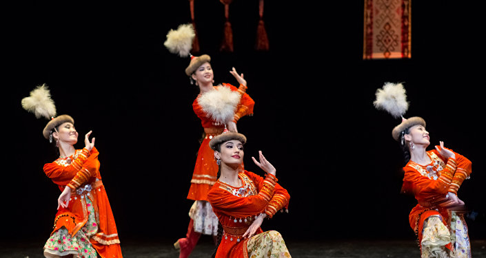 Постановка Кербез сулу. Гастроли театра Астана Балет в Монако