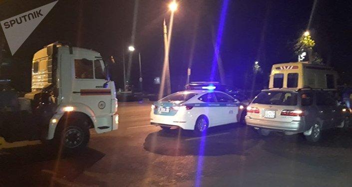 Мужчину сбили на ул. Рыскулова