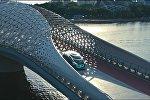 Виды Астаны в рекламном ролике нового беспилотника от Mercedes-Benz