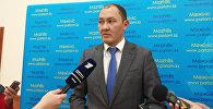 Председатель комитета транспорта МИР РК Асет Асавбаев