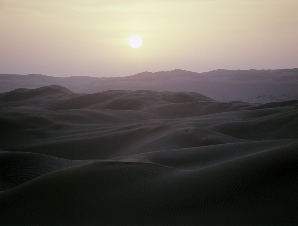 Пески полуострова Барсакельмес