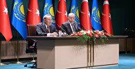 Брифинг для представителей средств массовой информации по итогам официального визита в Турецкую Республику