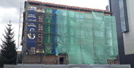 Библиотека в виде книжной полки в Петропавловске